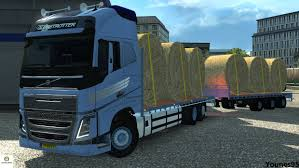 100 Truck Simulator 2 Euro Volvo FH16 Flatbed With Trailer