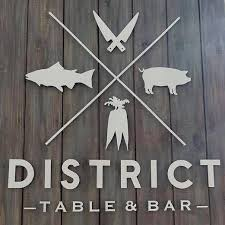 District Table And Bar