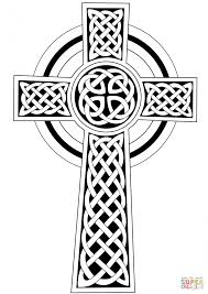 Large Size Of Coloring Pagecoloring Page Cross Celtic