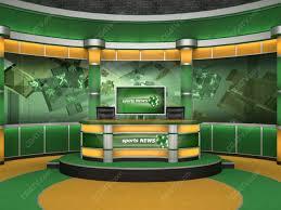 Sport Studio Set Green And Orange