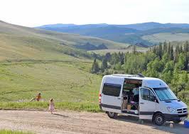 Sprinter Custom Camper At Paradise Ranch Wyoming