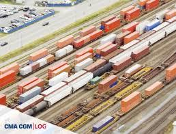 duisbourg la réussite du plus grand port sec du monde cma cgm