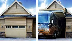 One Of A Kind RV Garage 8 Foot Tall Door That Your Can Fit Through