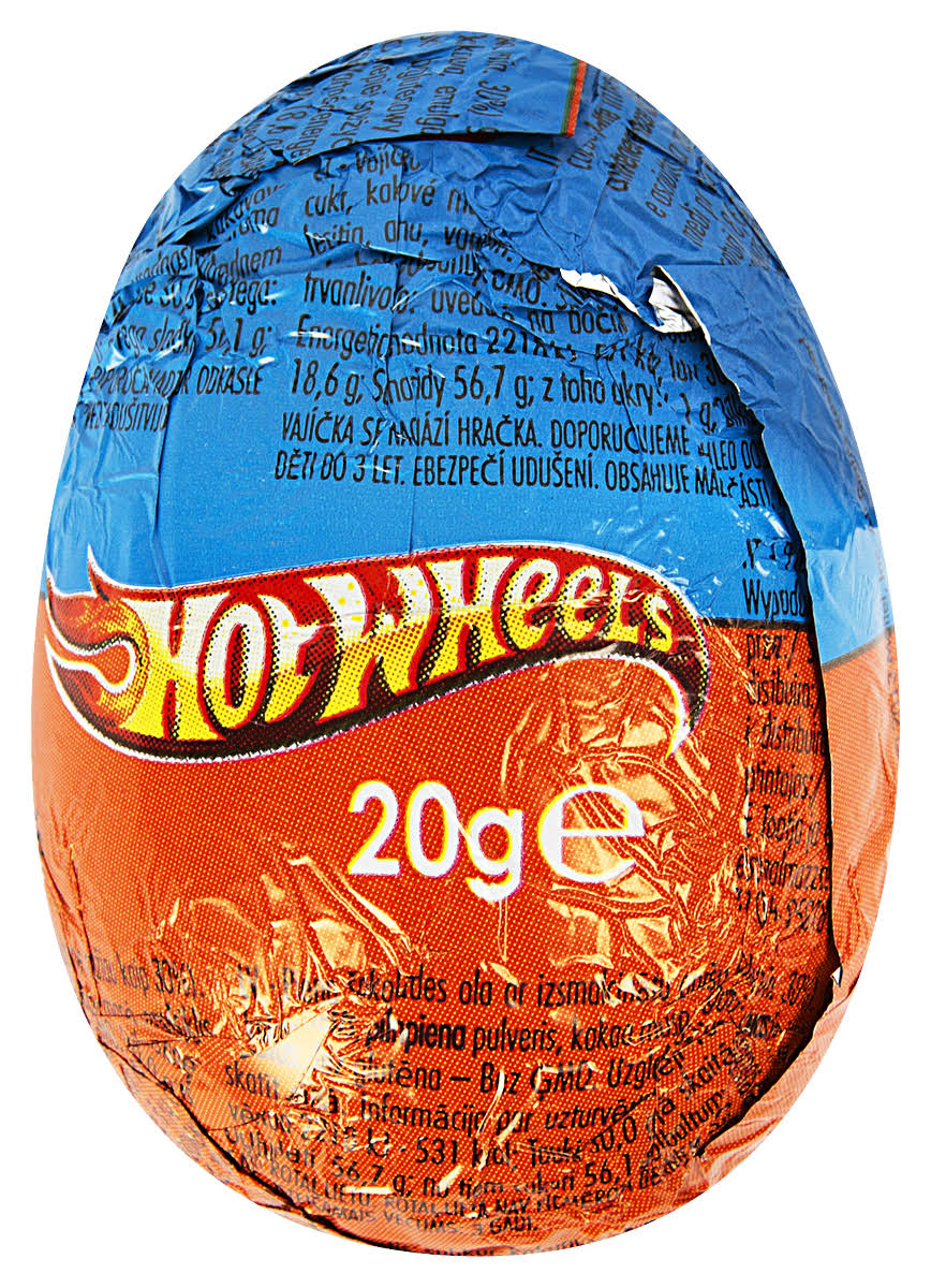 Hot Wheels Chocolate Surprise Egg