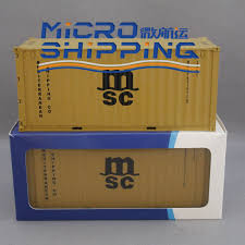100 Shipping Container Model Msc Marine Souvenir Buy Scale S S Product On Alibabacom