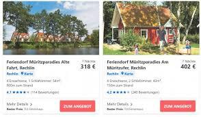mecklenburgische seenplatte apartment für 4 schon ab 45