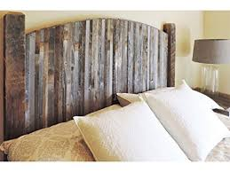 Farmhouse Style Arched King Bed Barn Wood Headboard W Narrow Rustic Reclaimed Slats
