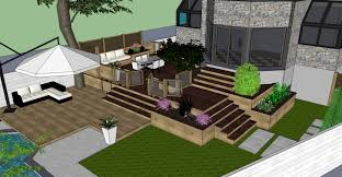 Hampstead Backyard Patio & Terrace 3D Visualization - Montreal ... Backyard Terrace Garden Design With Swimming Pool Idea Home So Yardstic Before And After Small Door And Windows Of House With Low Maintenance Patio Ideas Inspiration Fileflickr Brewbooks Our Gardenjpg Chapter Layer Studio Picture Fascating Roof Designs Pictures Charming Windsor Victorian Sizable Backyard Seeks Wall Interiror Exteriro Design Best 25 Terraced Ideas On Pinterest Sloped 2017 Contemporary Oak Flooring Wooden Bench Modern Trends
