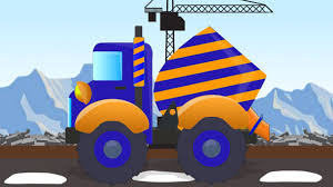 100 Cement Truck Video Kids Vehicles For Kids YouTube
