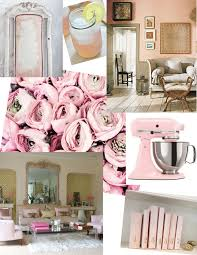 Interior Design Pink Inspiration Board