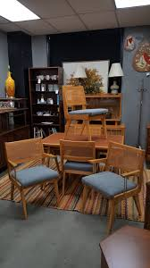 Mid-Century Modern Maple Dining Set With Two Tone Dining Table With ... Ding Room Oldtown Fniture Depot Maple And Suede Chairs Six 19th Century Americana Stick Back A Pair Chair Stock Image Image Of Room Interior 3095949 Brnan 5 Piece Set By Coaster At Michaels Warehouse G0030 W G0010 Glory Hard Rock Table Ideas Maple Ding Tables Grinnaraeco Museum Prestige Solid Wood Port Coquitlam Bc 6 Mid Century Blonde Wood Chairs Dassi Italian Art Deco With Upholstery Paul Mccobb Four Tback For The Planner Group