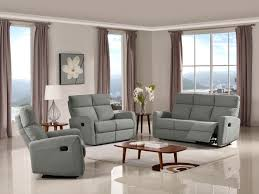 Wall Saver Reclining Couch by Victoria Reclining Sofa Set Fabric Code K26 Gray Husky