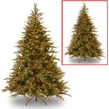 7ft Aspen Slim Christmas Tree by National Tree Pre Lit 6 U0027 Feel Real Frasier Grande Hinged
