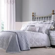 Nina Silver Bed Linen Collection