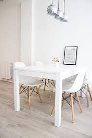 Dining Room Popular Design White Tables Chairs For Table
