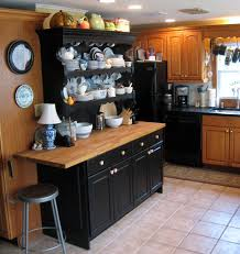 that old house squeezing a vintage look out of a 1980s style kitchen