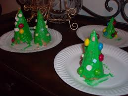 Kids Craft Edible Christmas Tree Cones
