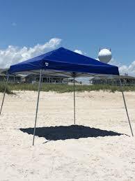 10 x 10 Canopy Wrightsville Beach Chair Umbrella & Cabana