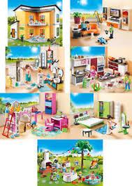 details zu playmobil 2017 wohnhaus wohnzimmer bad küche kinderzimmer schlafzimmer neu