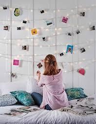 schlafzimmer deko ideen schlafzimmer lichterkette