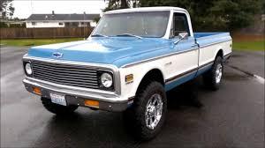 100 1972 Chevy Truck 4x4 Chevrolet Cheyenne 20 YouTube