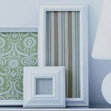 Framed Fabric Diy Wall Art