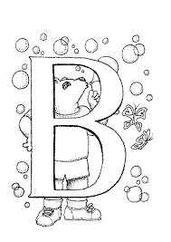 Free Alphabet Coloring Pages For Toddlers Animal Page