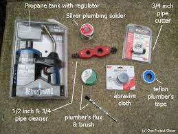 Everything You Need to Build a Basic Plumber s Kit e Project