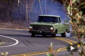 100 68 Ford Truck Watch KC Mathieu Stripe The Streets With His Blown 19 F100 In