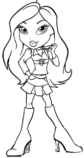 Get Free High Quality HD Wallpapers Bratzillaz Printable Coloring Pages
