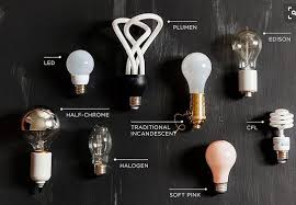 how to tell apart different types of light bulbs just by looking