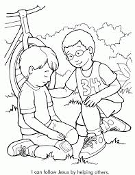 Bible Coloring Pages For Kids With Verses From