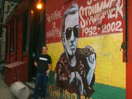 Joe Strummer Mural Address by Pictures Gojo Music