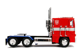 100 Optimus Prime Truck Model Jada Toys Transformers G1 And Transformers 2007