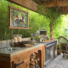 Garden Kitchen Ideas 32 Inviting And Functional Outdoor Kitchen Design Ideas