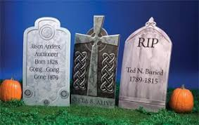 Halloween Tombstone Names by How To Build A Halloween Graveyard Themeaparty