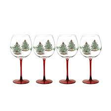 Spode Christmas Tree Mugs Candy Cane by Christmas Tree Wine Glasses Christmas Wikii