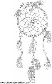 DreamCatcher Southwestern Coloring Page