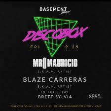 Basement Will Open At 6pm Basement Miami