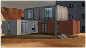 100 House Made From Storage Containers Mod The Sims Container Stack CCfree