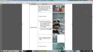 Samsung Refrigerator Leaking Water On Floor by Samsung Refrigerator Is Leaking From Water Filter Housing