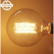 lightinbox e27 40w retro edison style light bulbs g125 tungsten