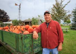 Pumpkin Farms In Bay County Michigan by Tuscola County Advertiserreese Grad U0027s Giant Pumpkin Plot Just