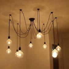 chandelier white light edison bulbs edison lights fashioned