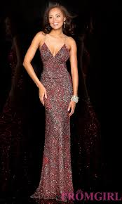 celebrity prom dresses evening gowns promgirl sequin open
