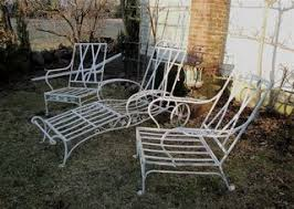 Salterini Iron Patio Furniture by Salterini Garden Furniture And Ornaments Plain U0026 Elegant Antiques