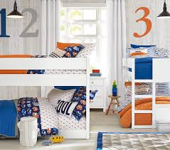 camden twin over twin low bunk bed pottery barn kids