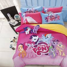 free shipping 100 pure cotton twin queen full size my little pony
