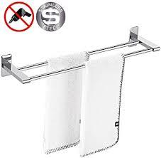handtuchhalter zum kleben gebürstet edelstahl 50 cm
