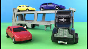 100 Youtube Big Trucks Dickie Toys Autotransporter Truck With Colorful Small Car Toys